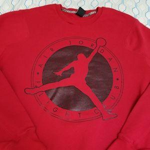 Vintage Air Jordan Flight Club Jumpman Crewneck